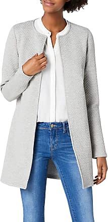 Vila Womens VINAJA NEW LONG JACKET - NOOS Blazer, Grey (Light Grey Melange), 34 (Manufacturer size: X-Small)