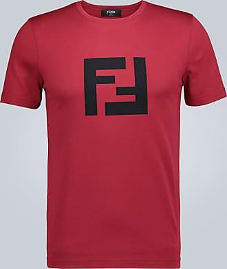Fendi Crewneck T-shirt with logo