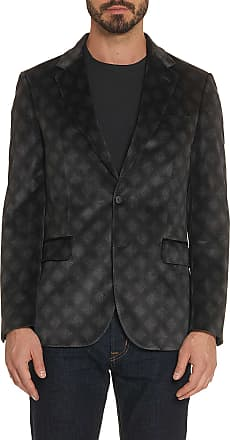 Robert Graham Mens Parkinson Sport Coat In Black Size: 36R by Robert Graham