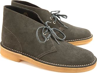 Clarks Boots for Men, Booties On Sale, Loden Green, suede, 2017, 11 8 9