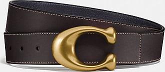 Coach Signature Buckle Reversible Belt, 38mm in Multi - Size 42