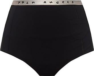 Palm Angels Logo Panties Womens Black