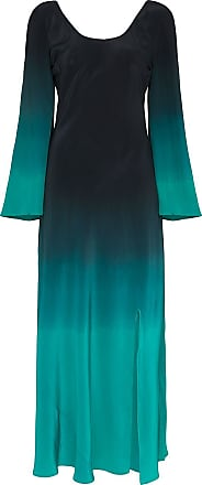 Rixo Ivy dip-dye maxi dress - Blue