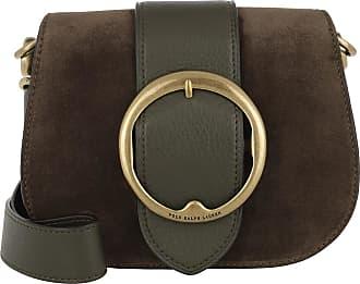 5a35d6827b0f64 Versand  kostenlos. Polo Ralph Lauren Lennox Belt Crossbody Bag Medium  Olive Umhängetasche braun
