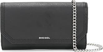 Diesel Carteira Gipsi de couro - Preto