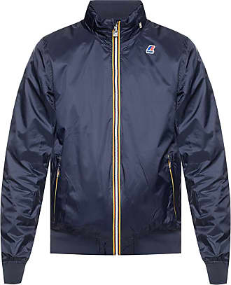 K-Way Hooded Rainjacket Mens Navy Blue