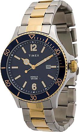 Timex Relógio Harborside 42 bicolor - Prateado