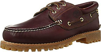 Timberland Mens Traditional Handsewn 3-Eyelet Classic Lug, Rootbeer, 8.5M