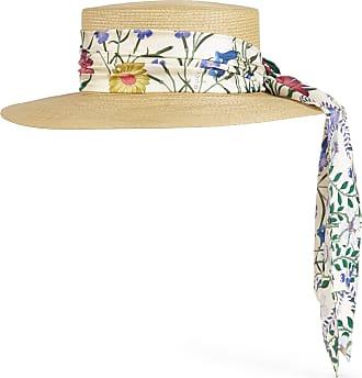 Gucci Cappello in paglia con nastro New Flora 03100ed9478e
