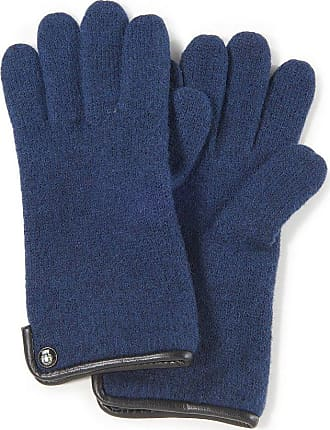 Roeckl Handschuh aus gewalkter Schurwolle Roeckl blau