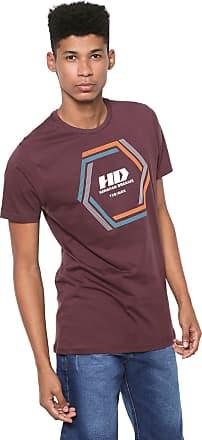 Hawaiian Dreams Camiseta HD Vortex Vinho