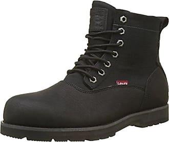 Levi s Logan CA, Desert Boots Hommes, Noir (Brillant Black 60), 40 22ce9cf9ffd2