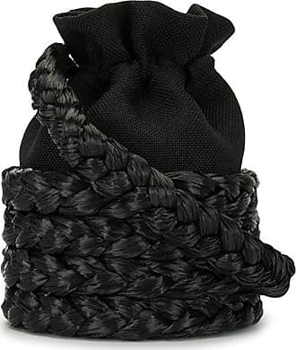 0711 Medium Freja bucket bag - Black