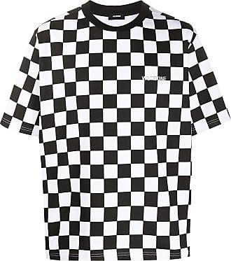 We11done T-Shirt mit Print - Schwarz