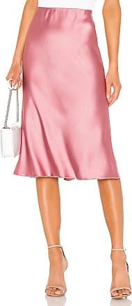 Nanushka Zarina Bias Skirt in Pink