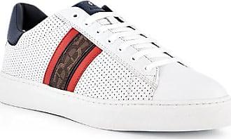 Aigner Herren Schuhe Sneaker, Leder, weiß