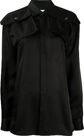 Bottega Veneta patch pocket shirt - Preto