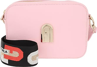 Furla Cross Body Bags - Sleek Mini Crossbody Rosa Chiaro Toni Nero - rose - Cross Body Bags for ladies