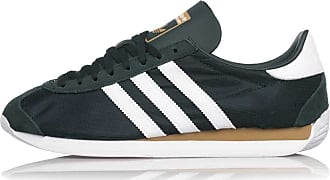 adidas Originals Country, Collegiate Green-Footwear White-Carbon, 9,5