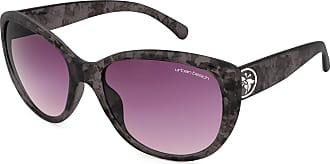 Urban Beach Womens Tabloid Cat Eye Sunglasses - Slate