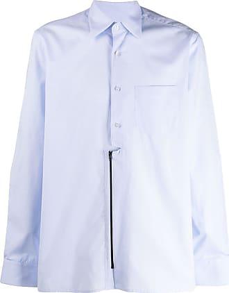 Inês Torcato Camisa mangas longas com zíper - Azul