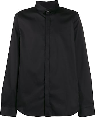 A|X Armani Exchange Camisa com abotoamento - Preto