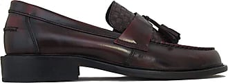 Ikon Weaver Oxblood Retro,Ska,Northern Soul Tassle Loafers (10/44)