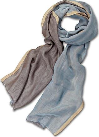 Alpi double-face-sjaal, heren, in katoen