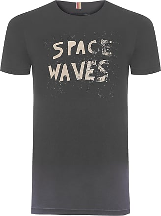Redley T-SHIRT MASCULINA SPACE WAVES - PRETO