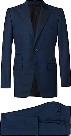 Tom Ford slim-fit formal suit - Blue