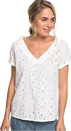 264c2276a56 Roxy Union Square Flower - Haut manches courtes pour Femme - Blanc - Roxy