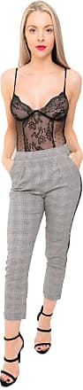 Girly HandBags Tartan Trousers (Pink, 12)