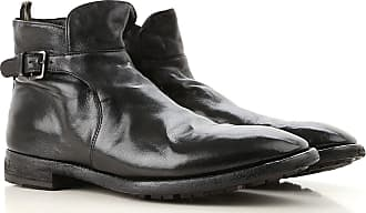 Officine Creative Boots for Men, Booties On Sale in Outlet, Black, Leather, 2017, 10