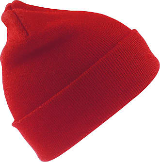 Result Junior Unisex Wooly Winter/Ski Thermal Hat (One Size) (Red)