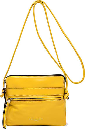 Gianni Chiarini medium size journey crossbody bag color yellow