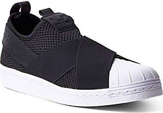 51514f96d32176 adidas Herrenschuhe ADIDAS SUPERSTAR SLIP ON in schwarzem Stoff BY2884 -  BY2884 - 43-2