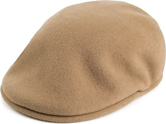 KANGOL Hat 504 Wool Flat Beret Ivy Cap 0258BC Winter Tobacco Sizes XL S