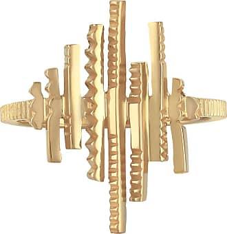 Zoe & Morgan Galaxia Goldring - gold plated silver | gold | medium - Gold/Gold
