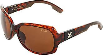 Zeal Optics Penny Lane Polarized (Demi Tortoise w / Copper Polarized Lens) Sport Sunglasses