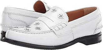 f0bec08e9 Churchs Pembrey Flower Loafer (White) Womens Slip on Shoes