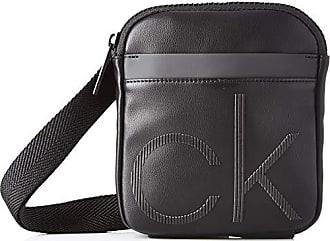 e6708a82ec284f Calvin Klein Ck Up Mini Reporter - Borse a spalla Uomo, Nero (Black)