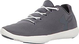 80a1e66f969b Under Armour Womens Street Precision Low Sneaker Rhino Gray (076) Ivory 5