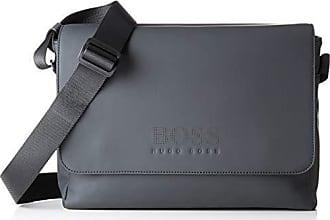 0bde1fb215 HUGO BOSS Hyper_messenger, Sacs portés épaule homme, Noir (Black), 10x25x34  cm