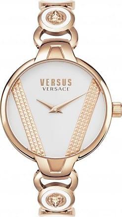 Acotis Limited Versus Watches Ladies Stainless Steel Jewels 2 Hands Quartz White Watc