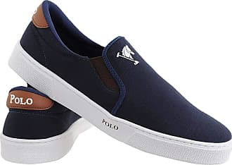 Polo Joy Tênis Polo Joy Slip On Iate Masculino Cano Baixo Casual Azul 37