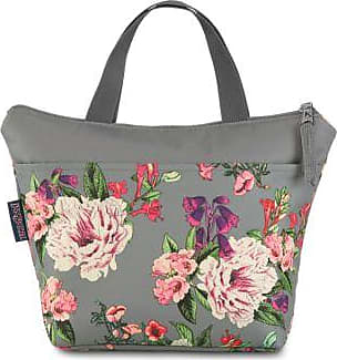 Jansport Lunch Tote - Grey Bouquet Floral