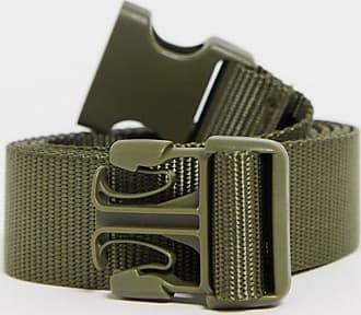Monki Yrsa - Cintura con fibbia kaki-Verde