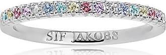 Sif Jakobs Jewellery Ring Ellera mit bunten Zirkonia