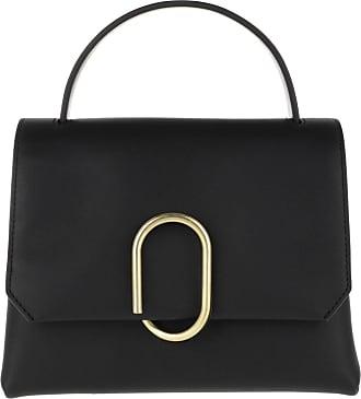 3.1 Phillip Lim Satchel Bags - Alix Mini Top Handle Satchel Black Brass - black - Satchel Bags for ladies