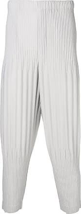 Homme Plissé Issey Miyake pleated trousers - Grey